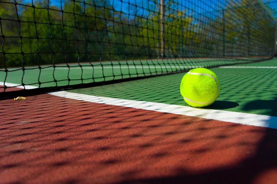 Recouvrement pour terrain sportif surface terrain de jeu for Mesure terrain de tennis